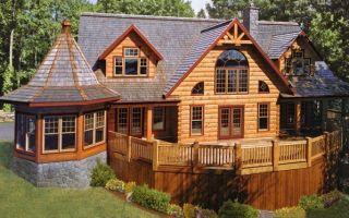 В чем преимущества домов из бруса?