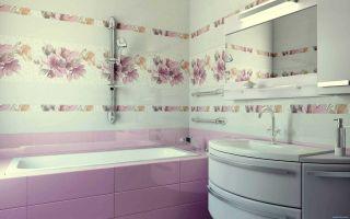 Как правильно выбрать кафельную плитку для ванной комнаты