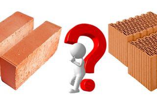 Керамический блок или кирпич: что выбрать?