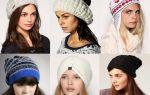 Модные вязаные шапки 2016-2017