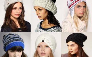Модные вязаные шапки 2019-2020