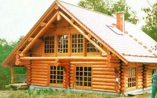 Строительство домов из бревна и бруса в Москве