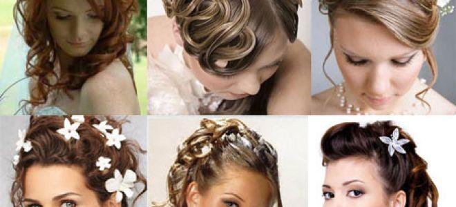 Выбор причёски на свадьбу