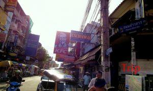 Путешествие по Таиланду: улица Каосан в Бангкоке