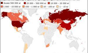 В каких странах есть ядерное оружие?