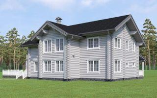 Преимущества домов из бревна ручной рубки.