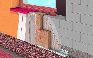 Устройство мокрого фасада для частного дома или коттеджа.