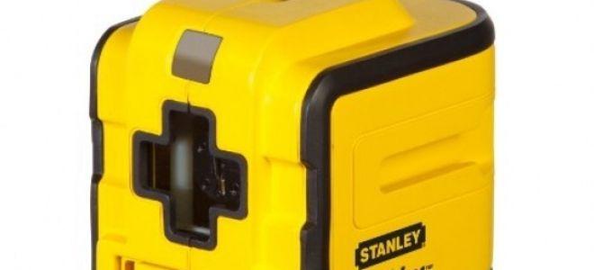 Лазерный нивелир STANLEY Cubix – точный результат в несколько секунд.