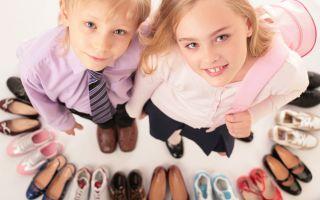 Как правильно выбрать детскую обувь? Основные критерии выбора.