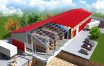 Особенности и преимущества быстровозводимых зданий.