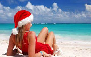В какую страну поехать зимой на море?