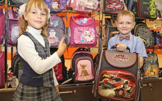 Детский рюкзак: памятка покупателю.