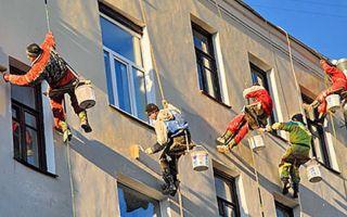 Каким бывает ремонт фасада многоквартирного дома?