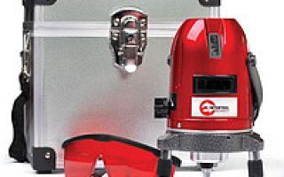 Лазерный уровень AGP-192 – точность бытового значения.