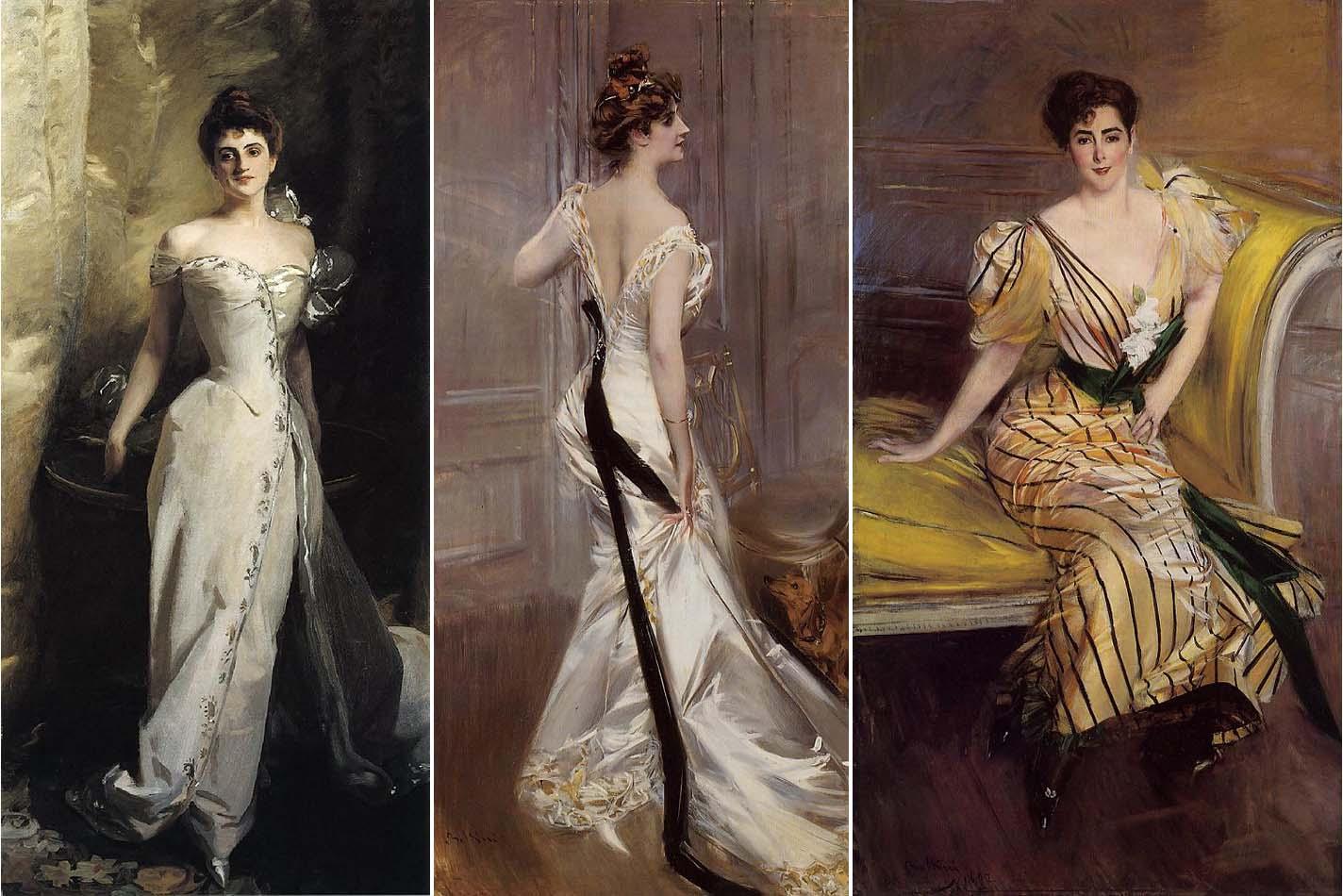Art nouveau modern fashion
